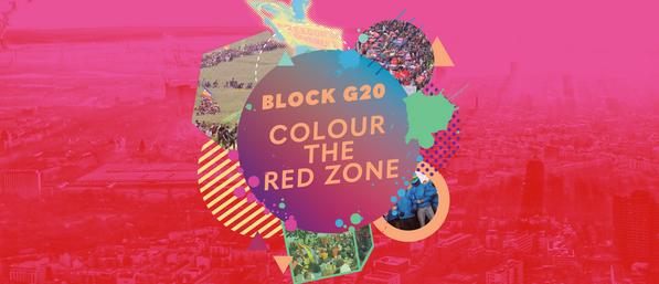 Block G20 - Aktion Rote Zone - G20-Gipfel in Hamburg blockieren!