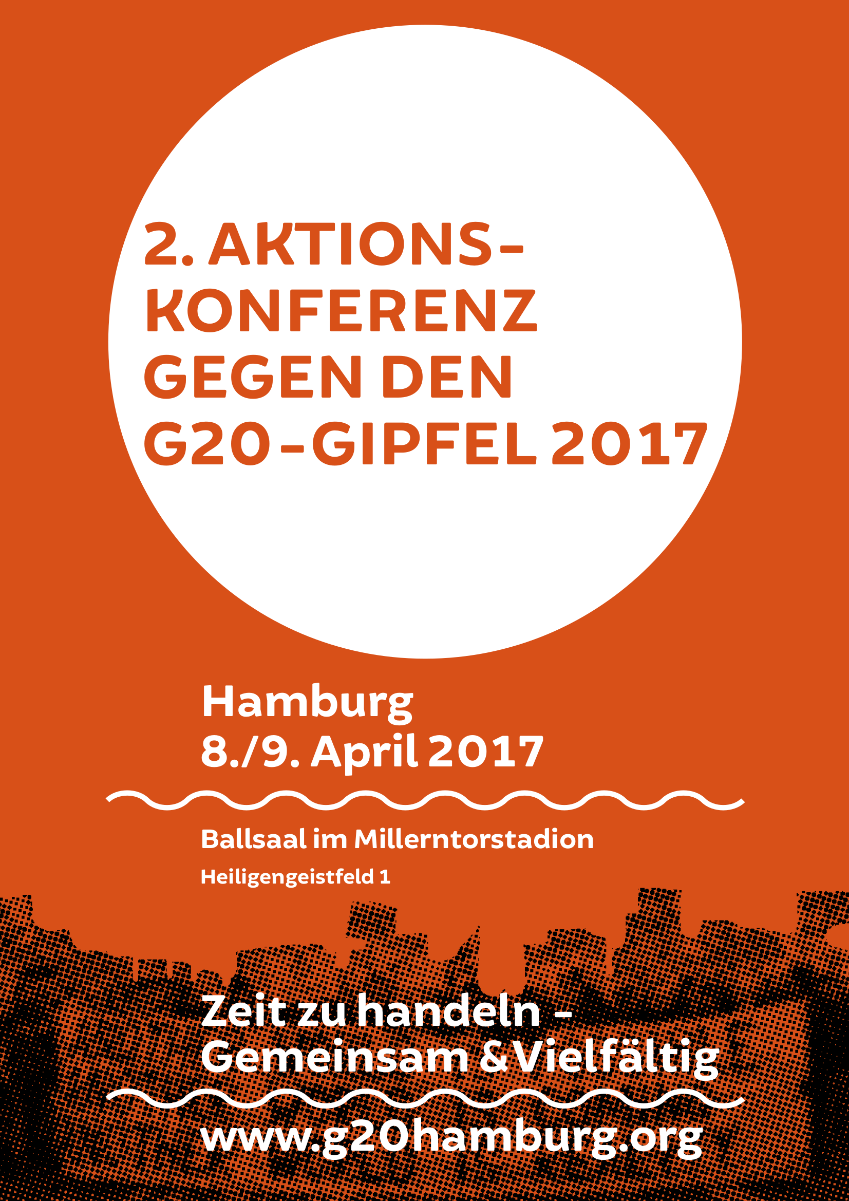 NO G20 Aktionskonferenz II in Hamburg
