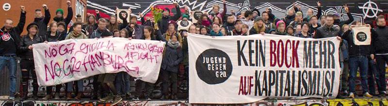 Jugend gegen G20, Protest in Hamburg