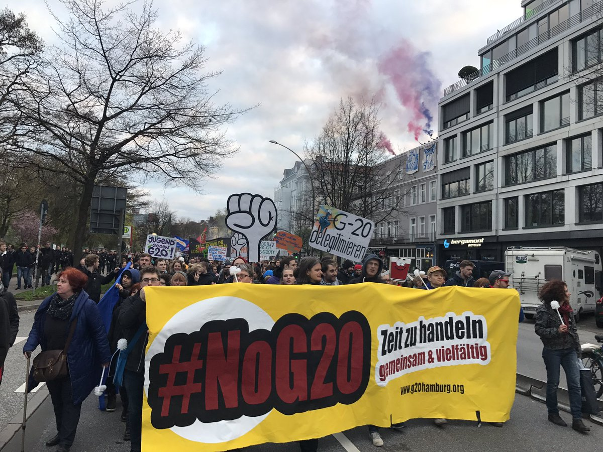 G2o Gipfel Hamburg