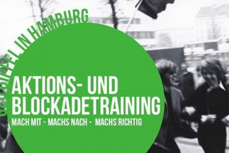 NoG20-Aktionstraining in Wien