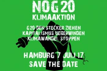Klima-Aktion gegen den G20-Gipfel 2017 in Hamburg