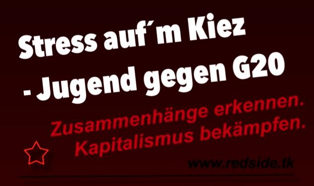 Von Nürnberg nach Hamburg: Stress auf´m Kiez – Jugend gegen G20