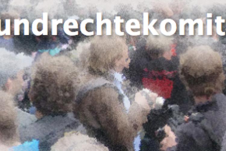 Grunrechtekomitee - Kein Ausnahmezustand in Hamburg während des G20-Gipfels!