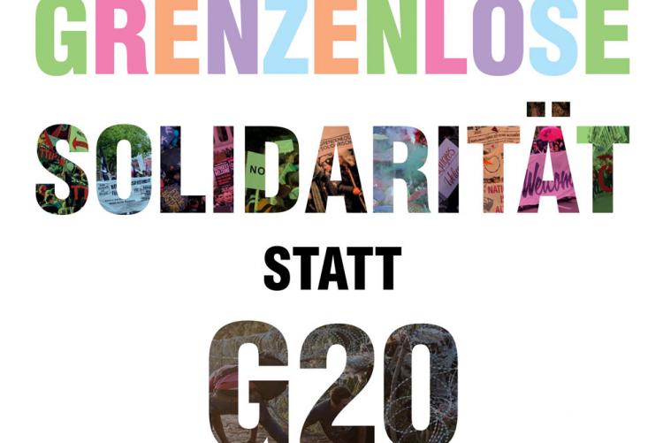 Großdemo am 8.7. in Hamburg – Grenzenlose Solidarität statt G20!