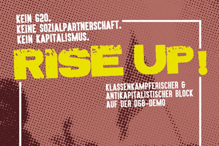 Hamburg: Antikapitalistischer Block auf der 1. Mai-Demo